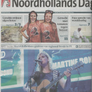 Noordhollands Dagblad 15 september 2014